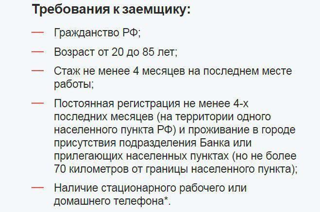 Требования по рефинансированию кредитов в Совкомбанке